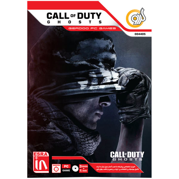 بازی گردو Call Of Duty Ghosts مخصوص PC