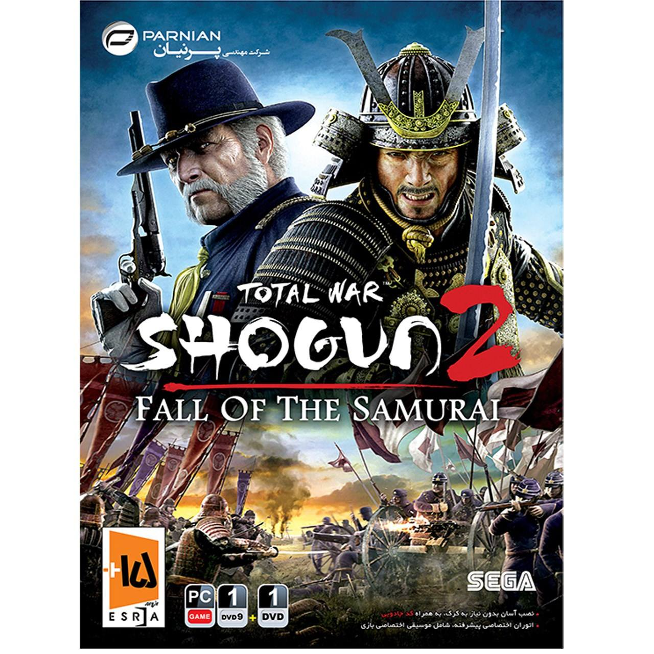 بازی total war shogun2 مخصوص PC نشر پرنیان